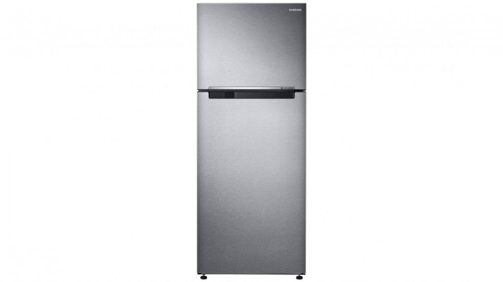 Samsung 471L Top Mount Fridge with Twin Cooling Plus - Silver Layered Steel