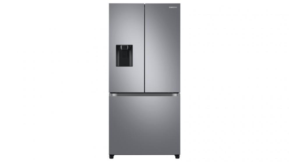 Samsung 498L French Door Refrigeration - Silver Layered Steel