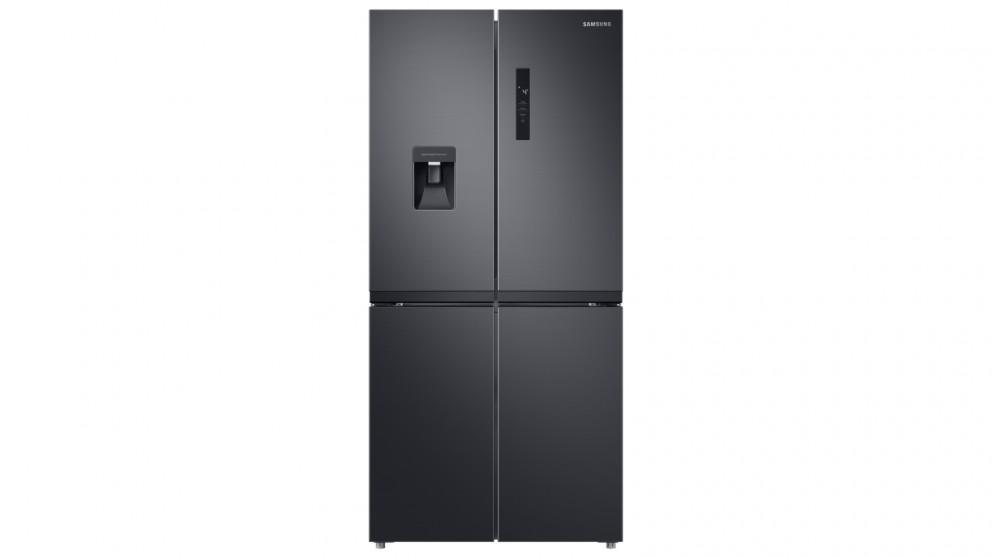 Samsung 488L French Door Refrigeration - Black Layered Steel