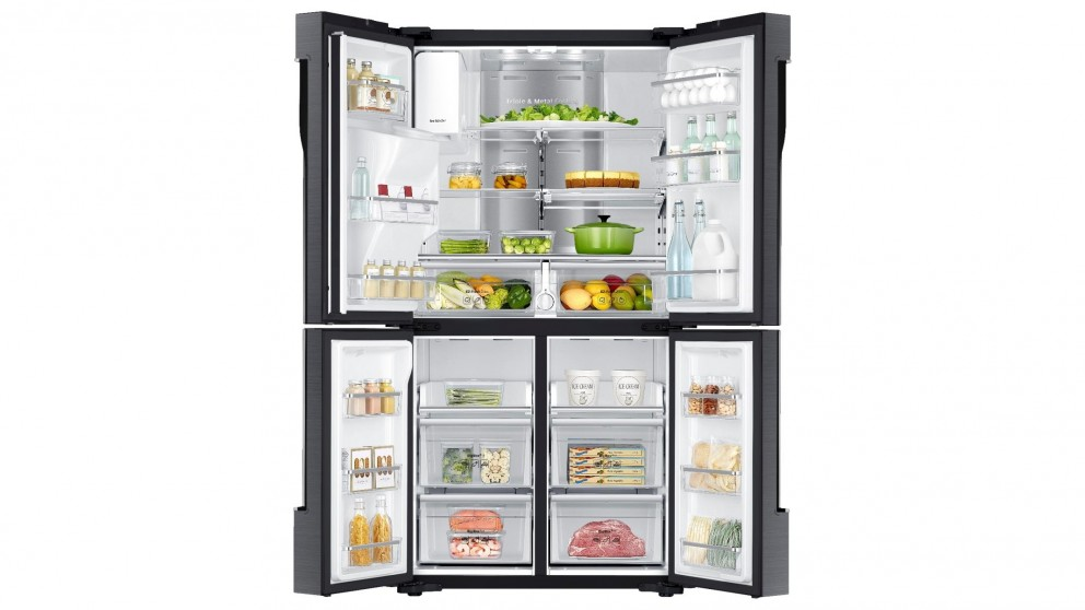 Buy Samsung 719l 4 Door French Door Fridge Black Harvey Norman Au