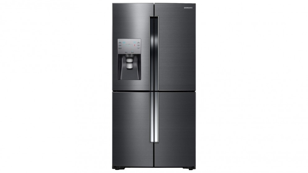 Samsung 719L 4 Door French Door Fridge - Black