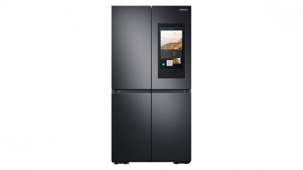 Samsung 810L Family Hub French Door Fridge with Internal Beverage Showcase - Black Stainless Steel