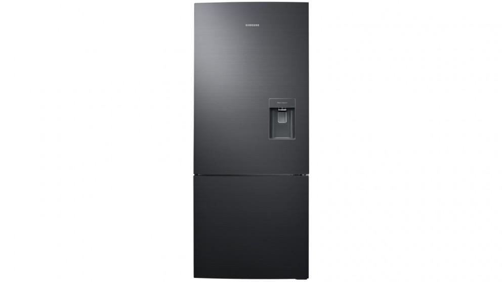 Samsung 455L Bottom Mount Fridge with Water Dispenser - Matte Black