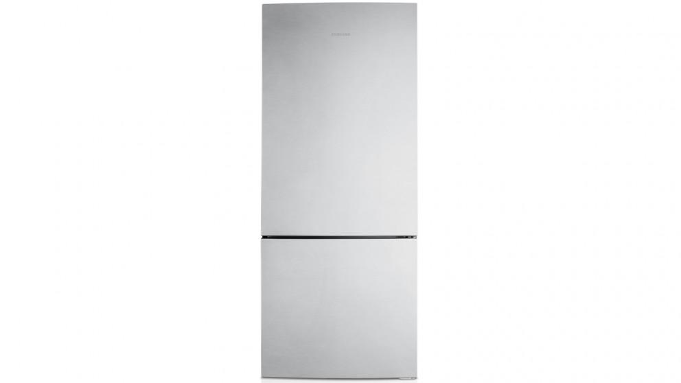 Samsung 427L Bottom Mount Fridge - Silver Layered Steel