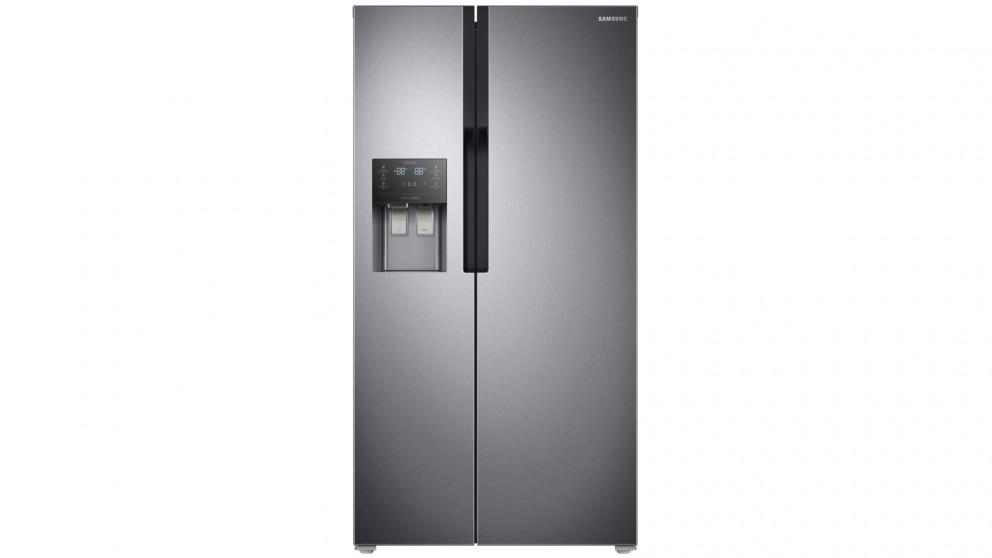 buy samsung 589l twin cooling side by side fridge harvey. Black Bedroom Furniture Sets. Home Design Ideas