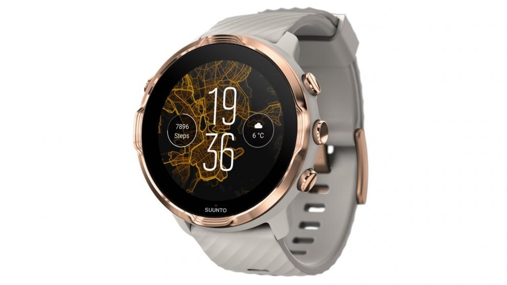 Suunto 7 Smart Watch - Sandstone Rose Gold