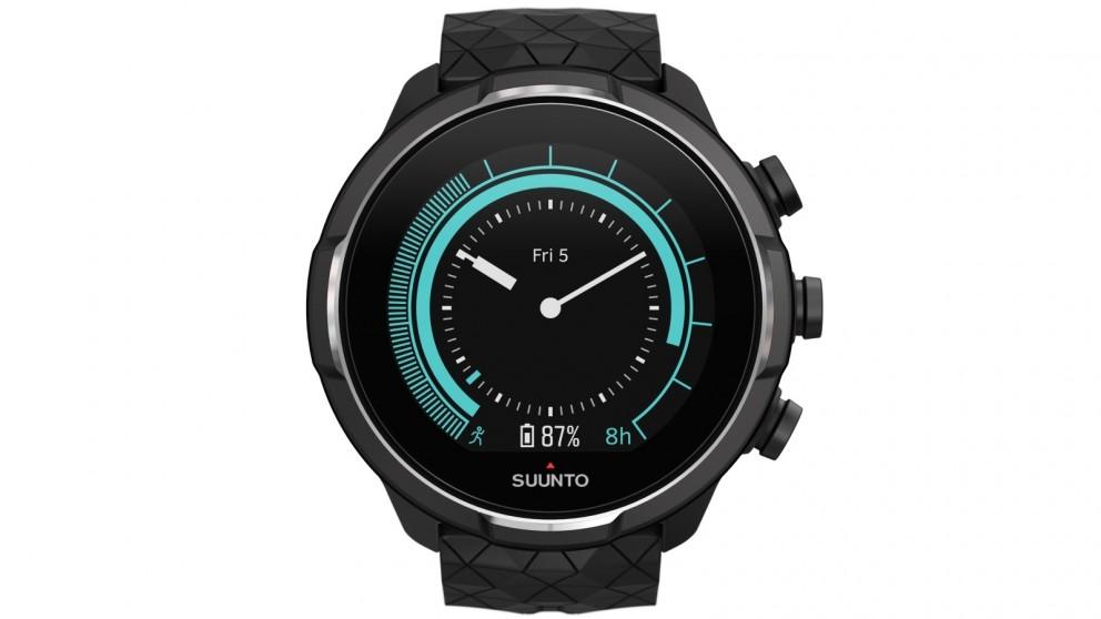 Suunto 9 Baro GPS Sports Watch - Titanium Leather