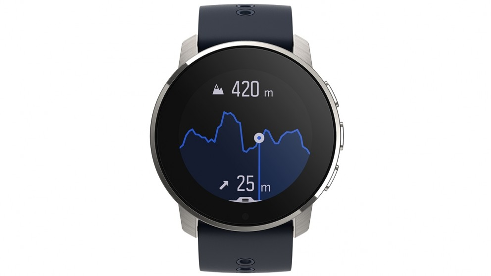 Suunto 9 Peak GPS Sport Watch - Granite Blue Titanium