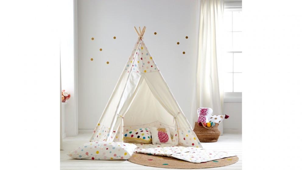Spot Tee Pee Tent  sc 1 st  Harvey Norman & Spot Tee Pee Tent - Kids Beds u0026 Suites - Bedroom - Beds ...