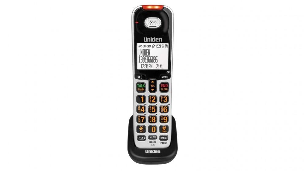 Uniden SSE07 Optional Sight & Sound Enhanced Digital Cordless Handset for SSE 45/47 Series