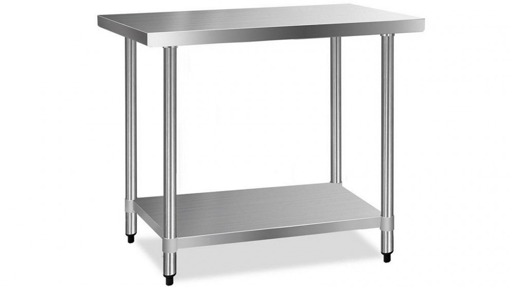 Cefito 430 Stainless Steel Kitchen Benches 121.9cmx61cm