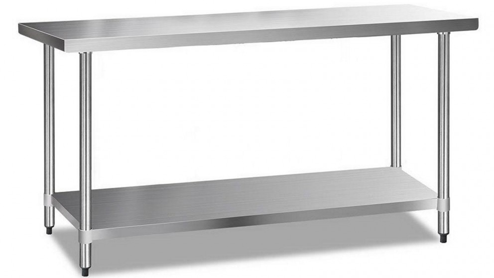 Cefito 430 Stainless Steel Kitchen Benches 182.9cmx61cm
