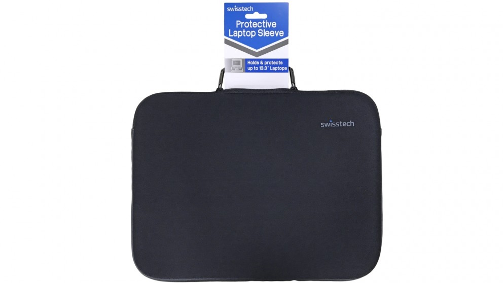 "SwissTech 13.3"" Protective Laptop Sleeve - Black"