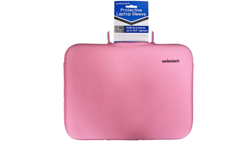 "SwissTech 13.3"" Protective Laptop Sleeve - Pink"