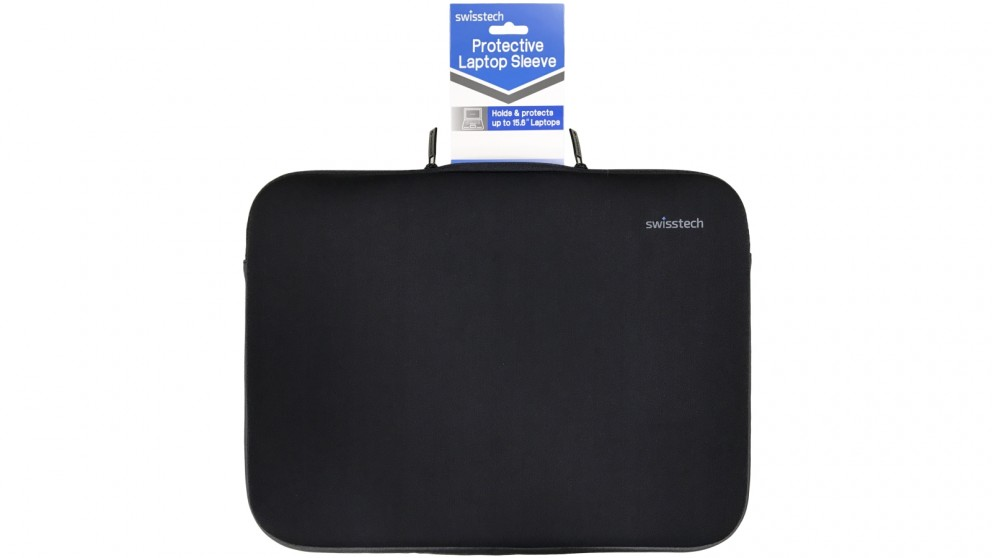 "SwissTech 15.6"" Protective Laptop Sleeve - Black"
