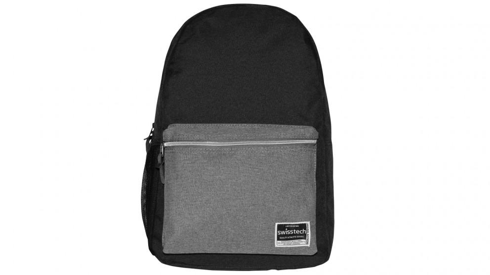 Swisstech Laptop Backpack - Black/Grey