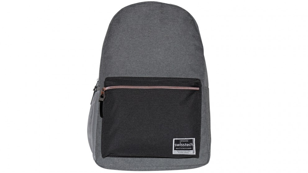 Swisstech Laptop Backpack - Grey/Black