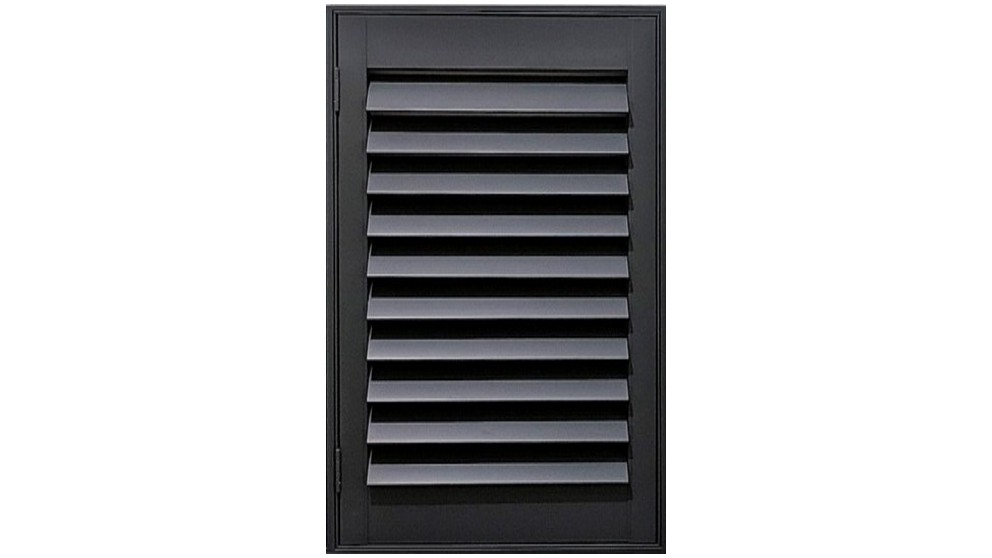 Trendvue 89mm Small L-Frame Reveal Fit Timber Shutter - Slate