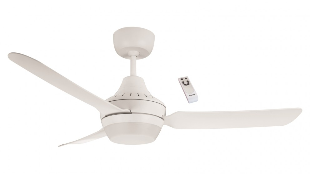 Ventair Stanza 120cm Glass Fibre Composite 3 Blade Ceiling Fan with B22 Lamp Holder & Remote Control