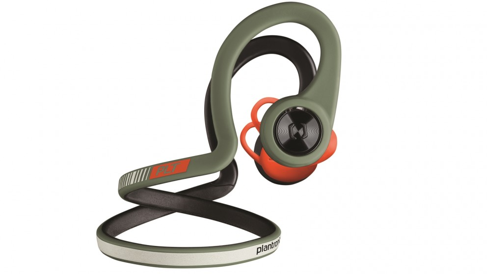 Plantronics BackBeat FIT Headphones - Stealth Green