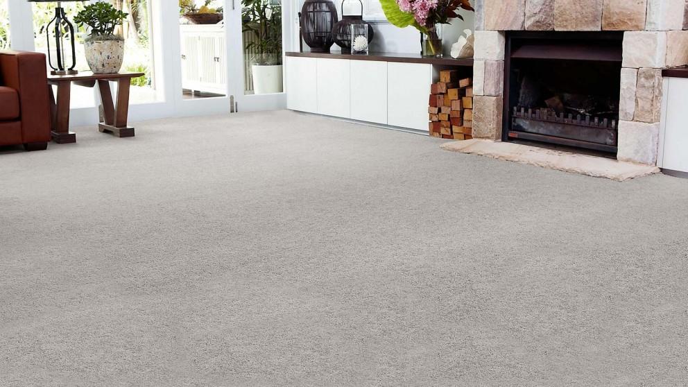 SmartStrand Forever Clean Chic - Steel Border Carpet Flooring