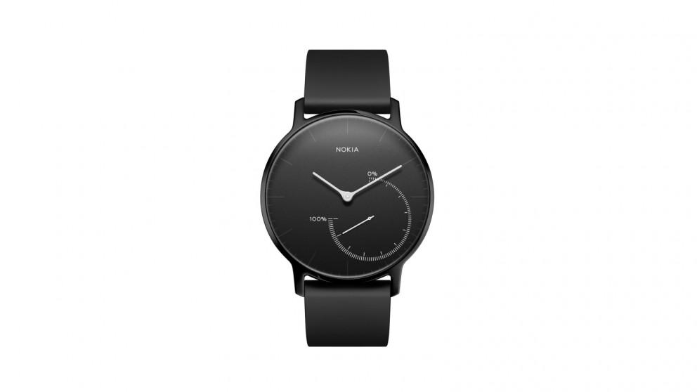 Nokia Activit Steel Activity & Sleep Tracker - Black