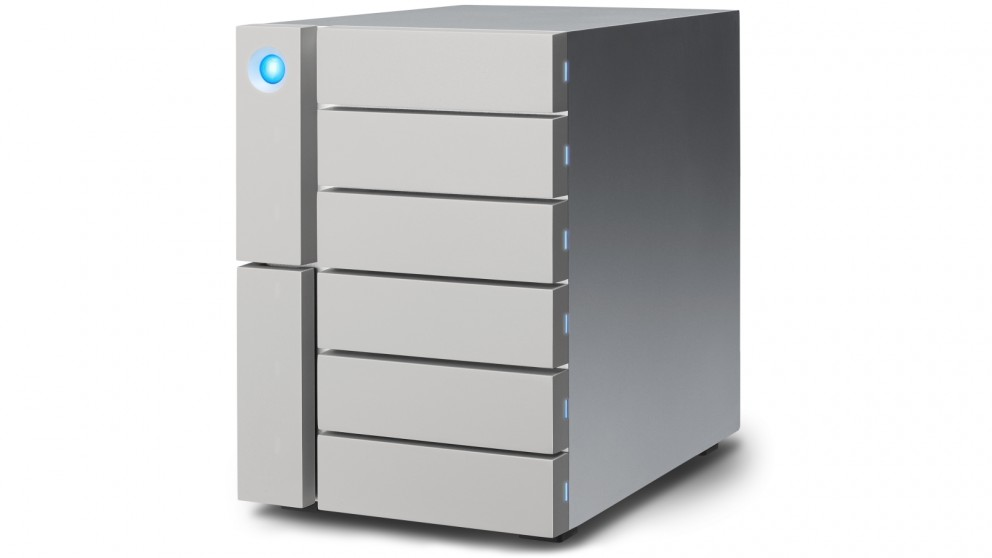 LaCie 6big Thunderbolt 3 24TB 6-Bay Desktop Raid Storage