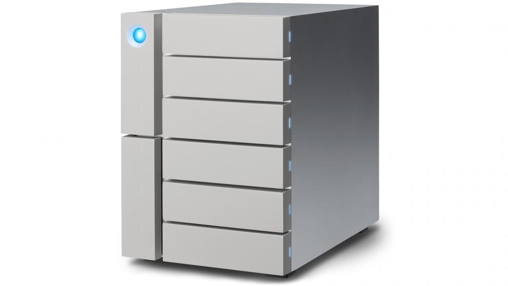 LaCie 6big Thunderbolt 3 48TB 6-Bay Desktop RAID Storage