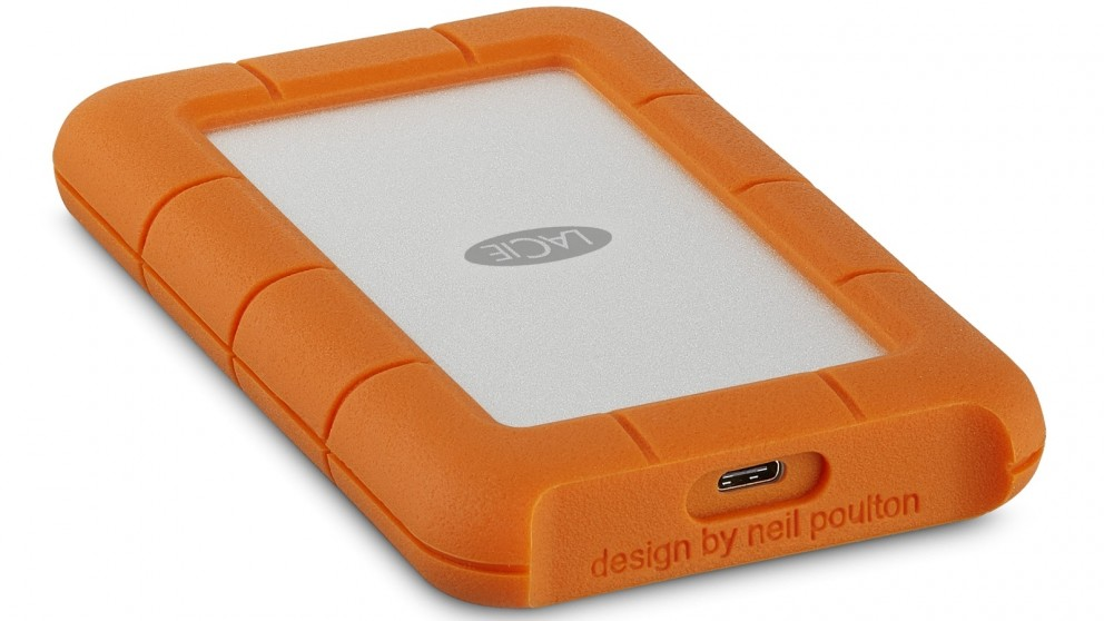 LaCie 1TB Rugged USB-C/USB 3.1 Portable Hard Drive