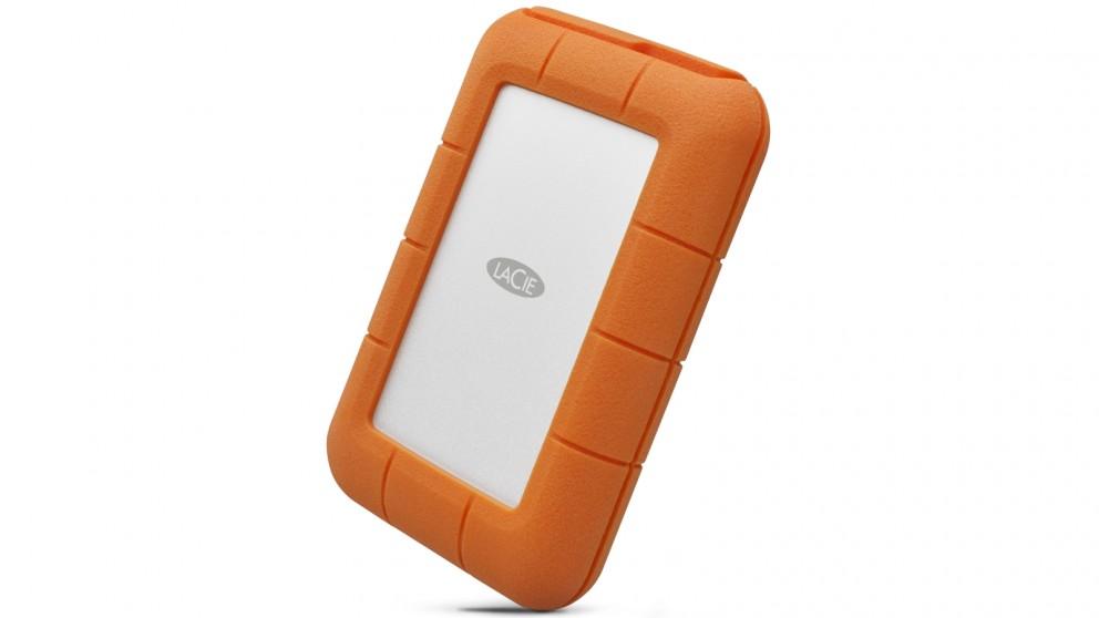 LaCie 500GB Rugged Thunderbolt USB-C Portable SSD