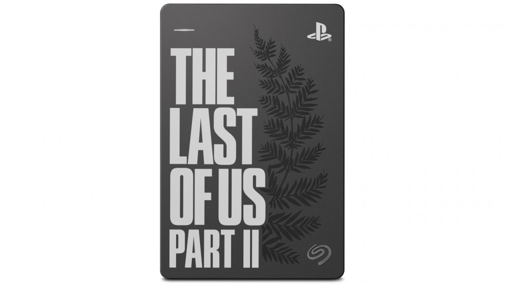Seagate Game Drive for PS4 The Last of Us Part II Edition 2TB Portable Hard Drive