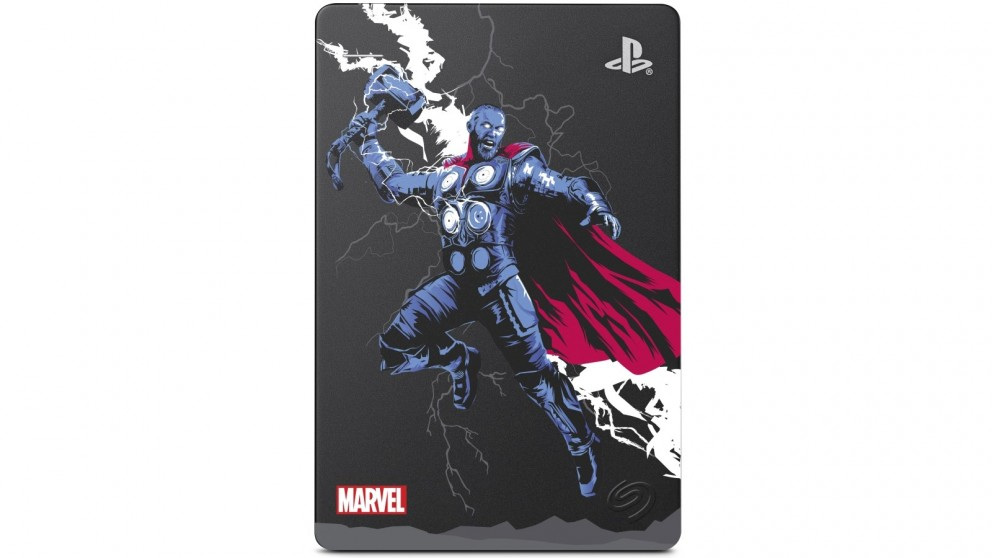 Seagate 2TB Game Drive for PS4 - Marvel Avengers Thor