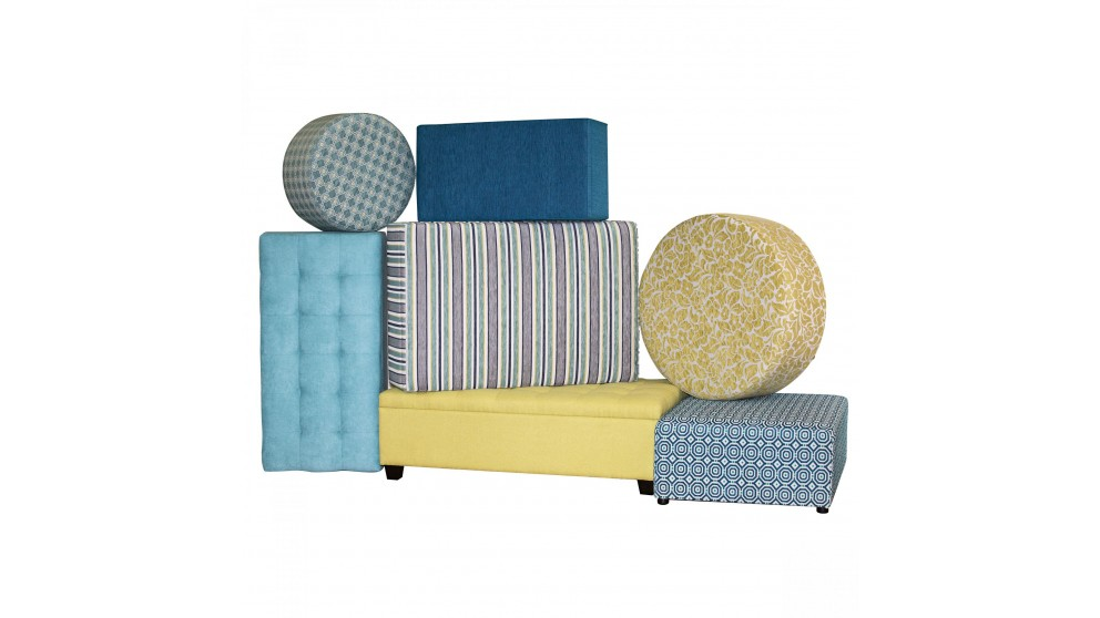 Stora Fabric Ottomans Lounges Living Room Furniture