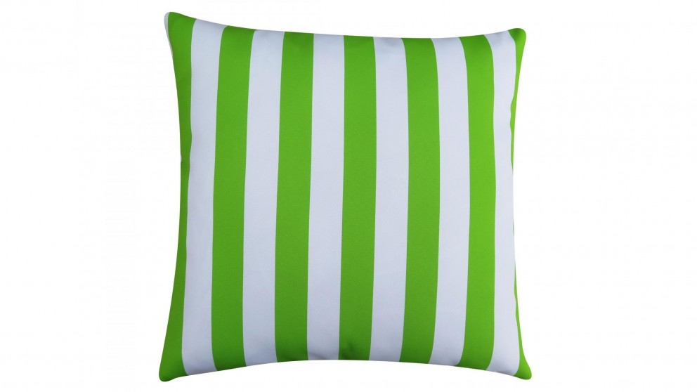 Hali Outdoor Scatter Striped Greenery Cushion