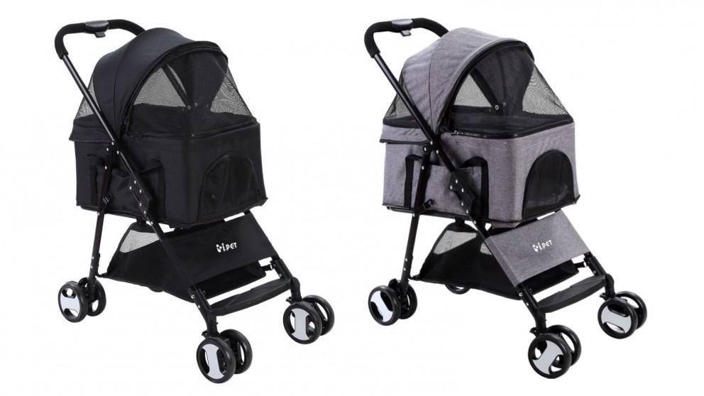 i.Pet 4-Wheel Pet Stroller