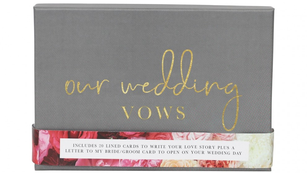 Splosh Wedding Vows Writing Set