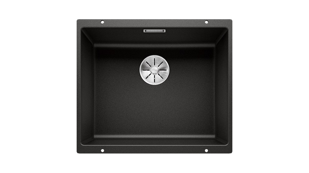 Blanco SUBLINE 500-U Single Bowl Undermount Sink - Black