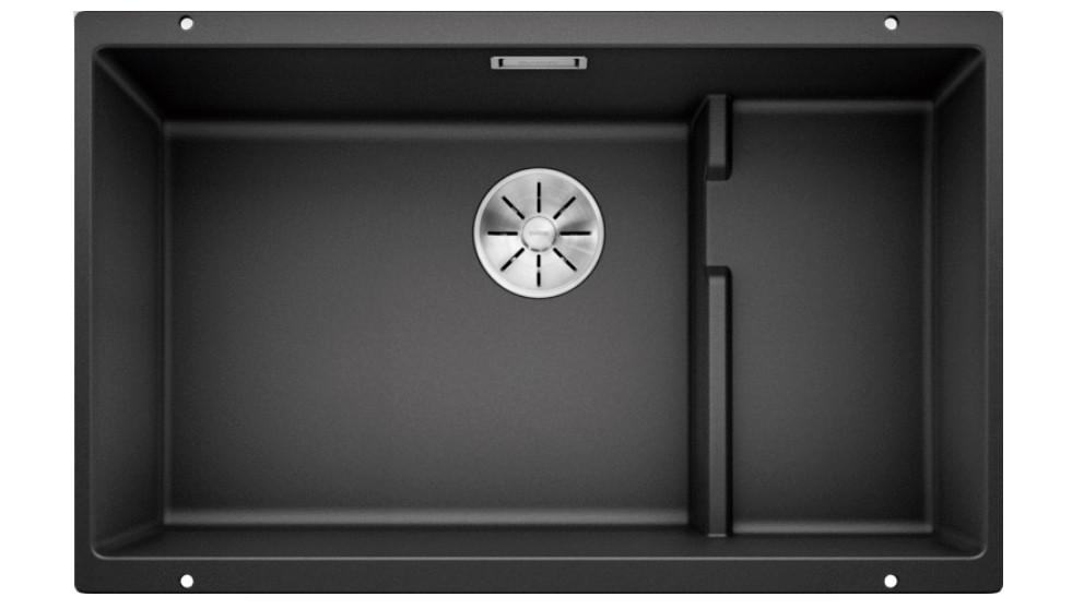 Blanco Subline 700-U Level Single Bowl Undermount Sink with 2 Level Configuration - Black