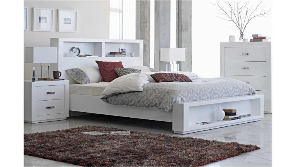 Buy Summit Bedside Table Harvey Norman Au