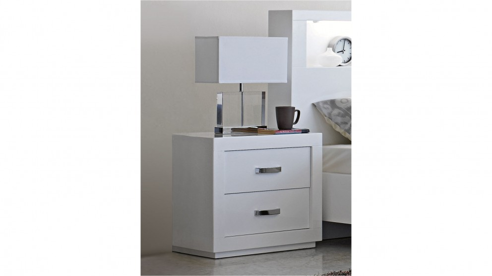 tables table muse oak modern veneer bedside grey drawer italian