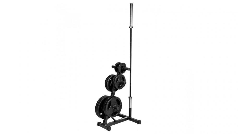 Sumo Strength PU Tri-Grip Weight Tree Set with Bar