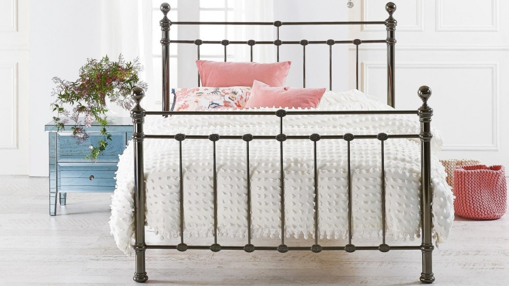Waterford Double Bed - Black