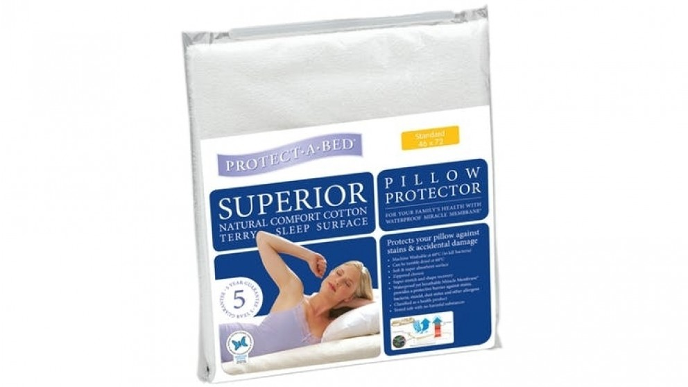 Protect A Bed Superior White Pillow Protector