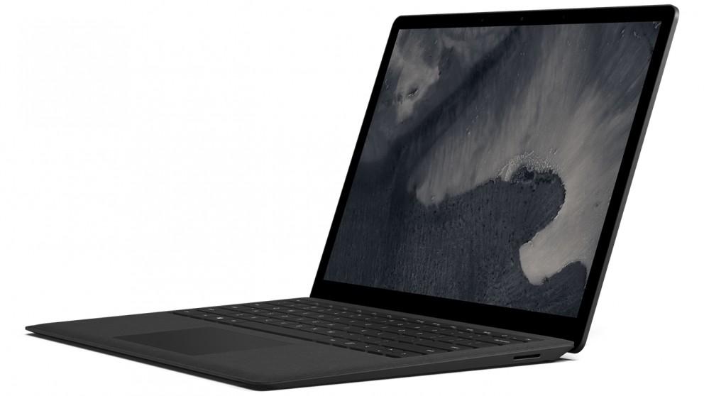 surface laptop 2 256g cheap microsoft surface laptop 2 i5 8gb 256gb black harvey norman au