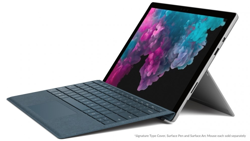 Microsoft Surface Pro 6 12.3 Inch I5/8 Gb/128 Gb  2 In 1 Device   Platinum by Microsoft Surface