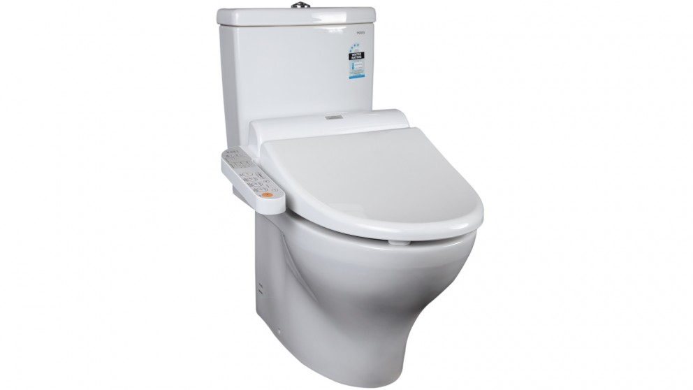Toto Two Pieces Back to Wall Toilet + Elongated Washlet with Side Control Package