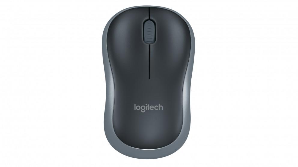 Logitech M185 Wireless Mouse - Black