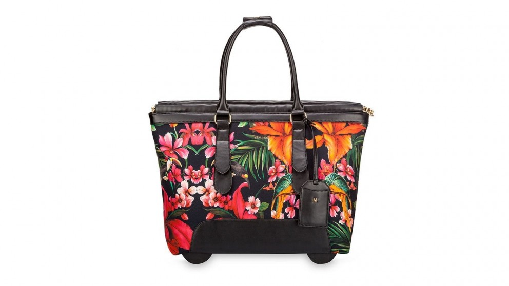 Swiss Trolley Travel Bag - Floral