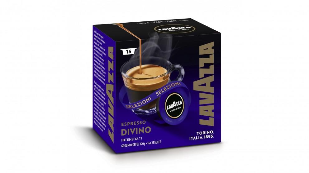 Lavazza A Modo Mio Divino Coffee Capsules - 16 Pack