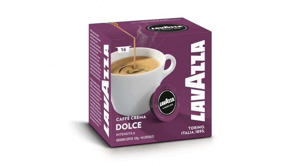 Lavazza A Modo Mio Dolce Coffee Capsules - 16 Pack